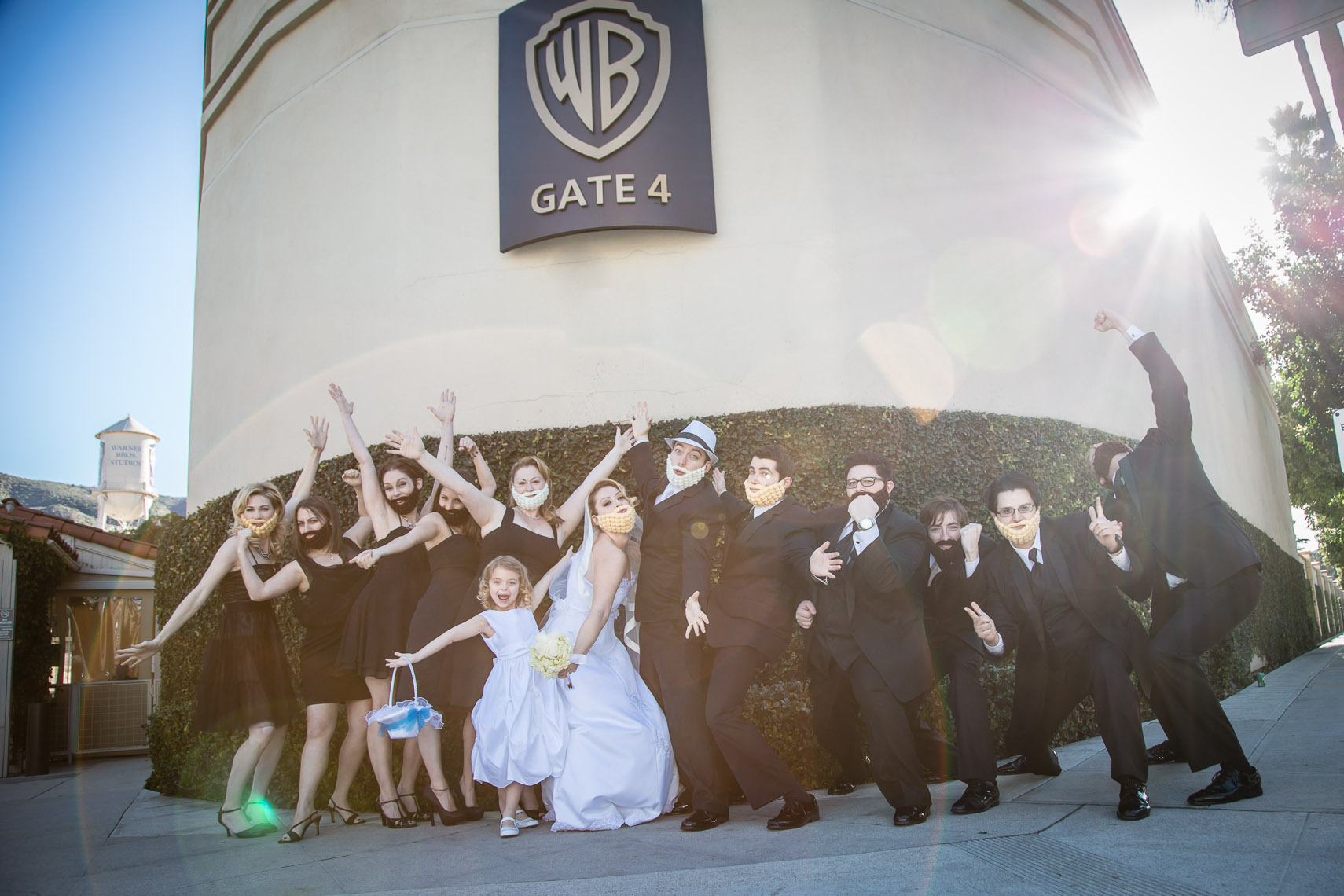 Warner Bros Wedding Insanity