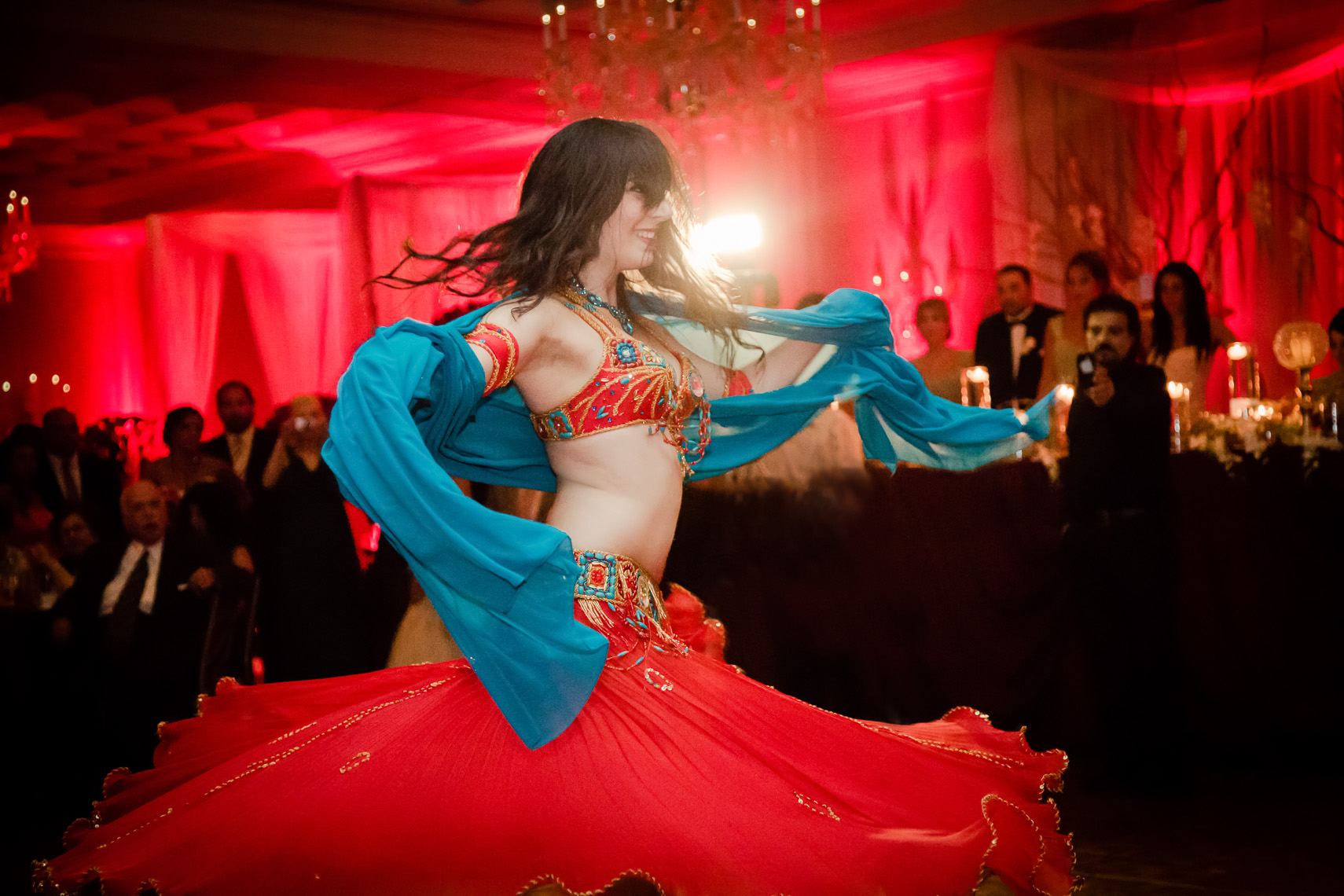 We should all have belly dancers at our weddings
