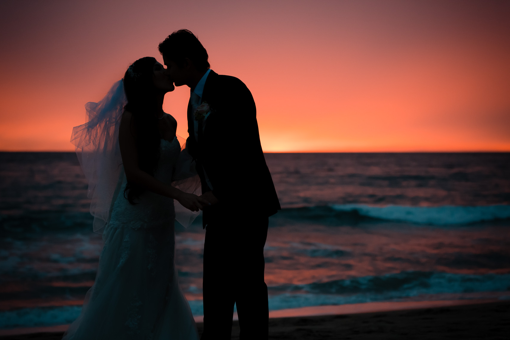 Malibu Wedding Sunset