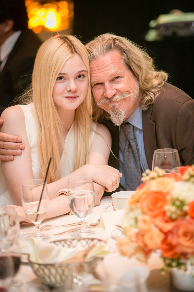 Jeff Bridges and Elle Fanning