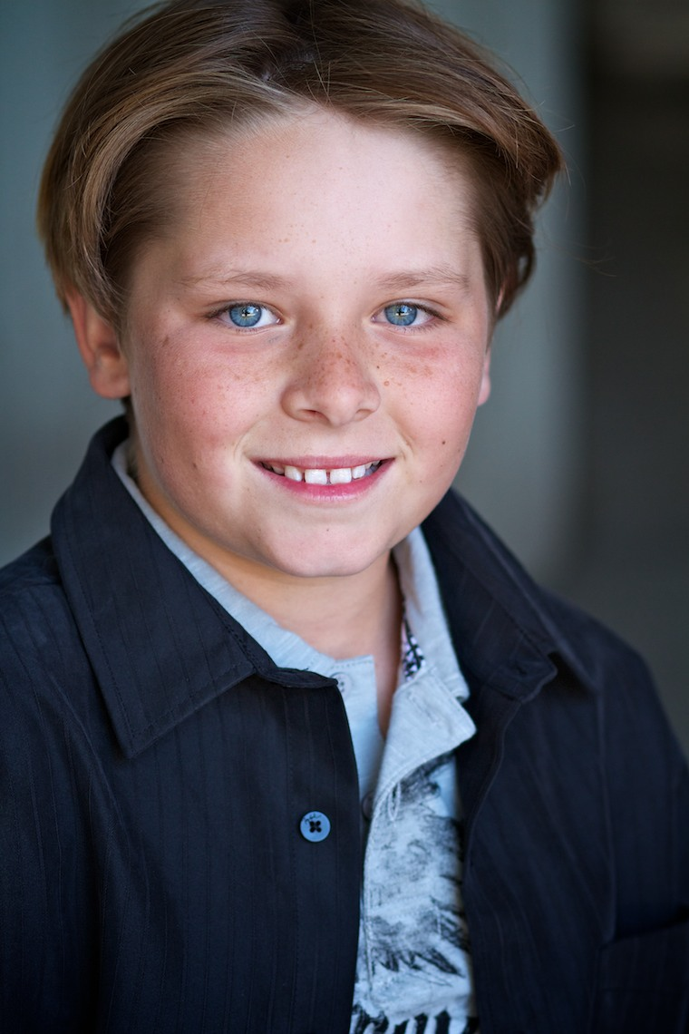 Young actor headshot